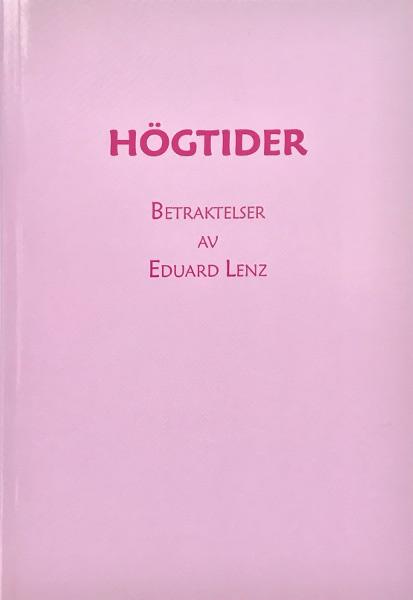 Omslag för Högtider av Eduard Lenz