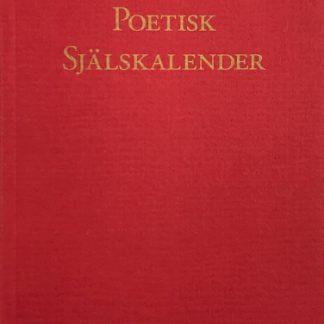Omslag för Poetisk Själskalender - Dikter i urval av Uwe Lemke